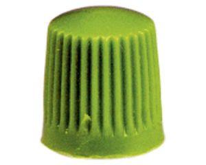Kunststoff-Ventilkappen, grün, 100 St/Pack