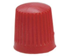 Kunststoff-Ventilkappen, rot, 100 St/Pack