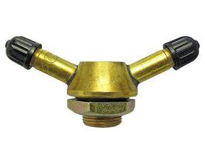 LKW-Ventil 16mm 25° zwei Anschlüsse