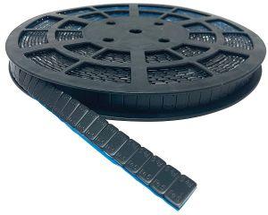 Klebegewichte schwarz Stahl, 6 kg Rolle