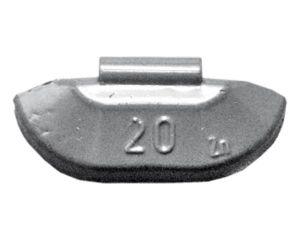 PKW Standardgewicht Zn,  50g, Stahlfelge