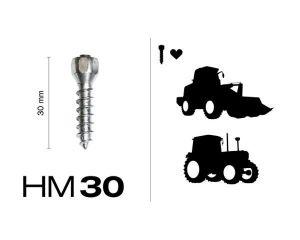 HM30, 150 St. in Pappschachtel