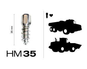 HM35, 100 St. in Pappschachtel