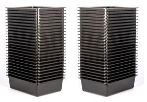 Werkstattbox L, schwarz, 5l, Set a. 50 Stück